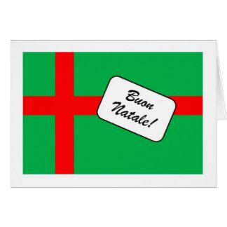 ItalianoのBuon Natale カード