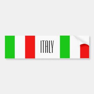 Italy bumper sticker バンパーステッカー