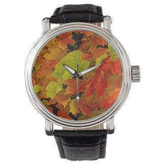Itascaの州立公園、紅葉 腕時計