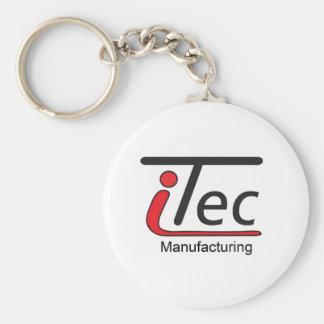 iTecのMfgのロゴ キーホルダー