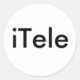iTele ラウンドシール
