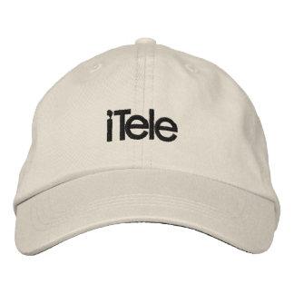 iTele 刺繍入りキャップ