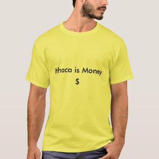 Ithacaはお金、$です Tシャツ