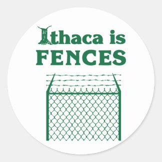 ithacaは塀です ラウンドシール