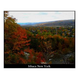 ITHACAニューヨークの谷 ポスター