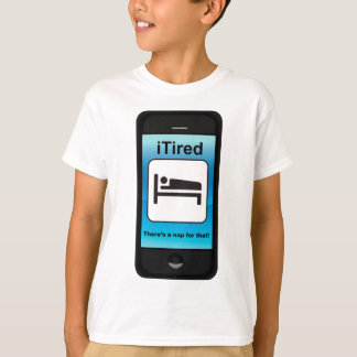 iTiredその変形のための昼寝があります Tシャツ