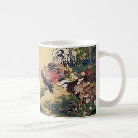 Itō Jakuchū , 伊藤若冲 コーヒーマグカップ