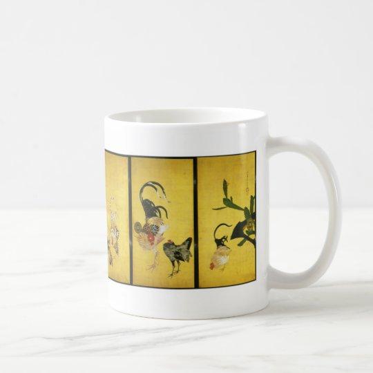 Itoh Jakucyu , 伊藤若冲 コーヒーマグカップ