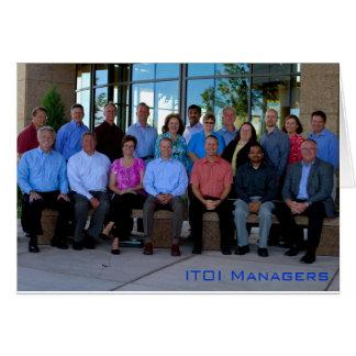 ITOIのマネージャー カード
