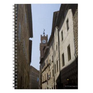 Itraly。 タスカニー。 Pienza ノートブック