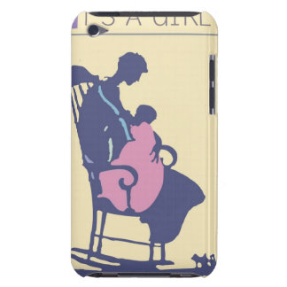 <It's a Girl> スティーブのコリアーによって Case-Mate iPod Touch ケース