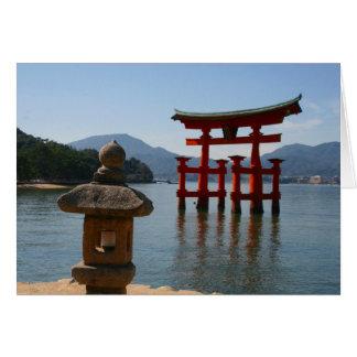 Itsukushimaのtorii カード