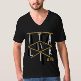 IVイタリアの金ゴールド Tシャツ