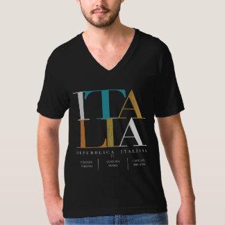 IVイタリアIV Blck Tシャツ