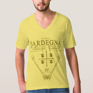 IV - Sardegna Il Piccolo Continente - Gialla Tシャツ