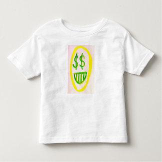 Ivankaの切札のお金の顔の幼児のTシャツ トドラーTシャツ