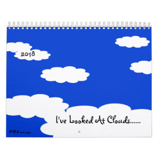 I've Looked At Clouds 2018 Calendar カレンダー