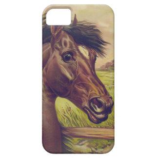 Ivesの馬頭部による血の王子 iPhone 5 ベアリーゼアケース
