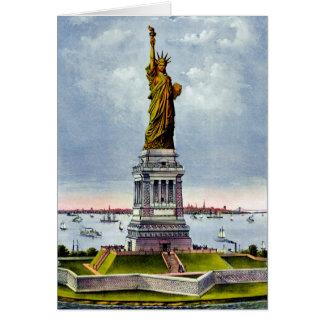 Ivesの) ~自由の女神 カード