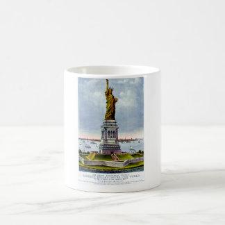 Ivesの) ~自由の女神 コーヒーマグカップ
