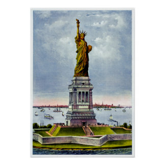 Ivesの) ~自由の女神 ポスター