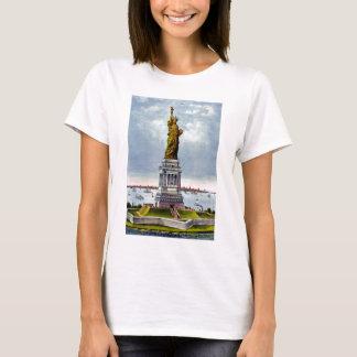 Ivesの) ~自由の女神 tシャツ