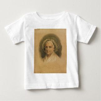 Ives著マーサワシントン州のポートレート ベビーTシャツ