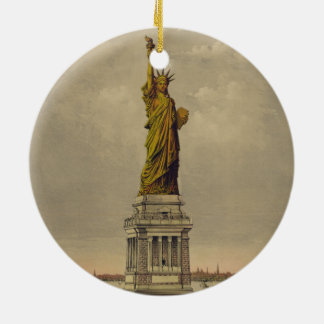 Ives 1885年著Bartholdiの素晴らしい彫像 セラミックオーナメント