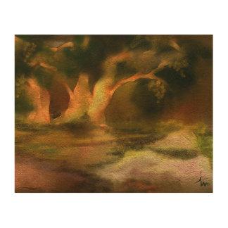Ivo著木の絵画 ウッドウォールアート