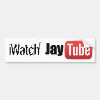 iWatch JayTube バンパーステッカー