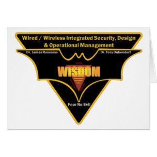 iWISDOMのメッセージカード カード