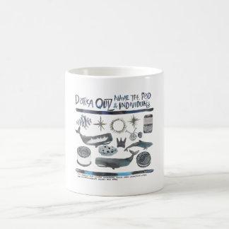 JのポッドのDorcaのクイズ コーヒーマグカップ
