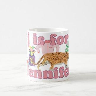 Jはジェニファーのためです コーヒーマグカップ