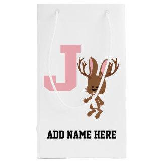 JはJackalopeのためです スモールペーパーバッグ