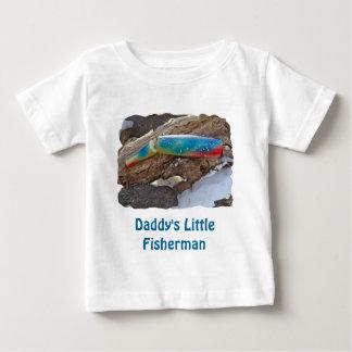 """J及びHの""""かつらによってつけられる""""ヴィンテージの塩水の魅惑項目 ベビーTシャツ"""