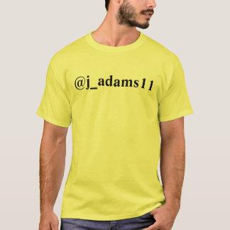 @j_adams11 Twitterのワイシャツ Tシャツ