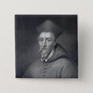 J.Cochranによって刻まれるウィリアムアレン 5.1cm 正方形バッジ