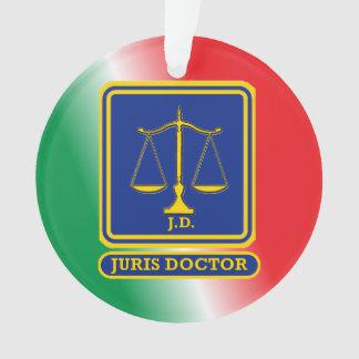 J.D. Shield Custom弁護士 オーナメント