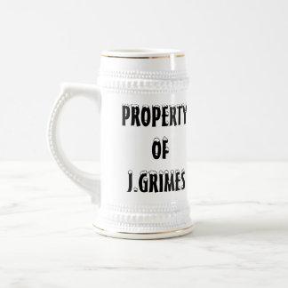 J.GRIMESのマグの公式の特性 ビールジョッキ