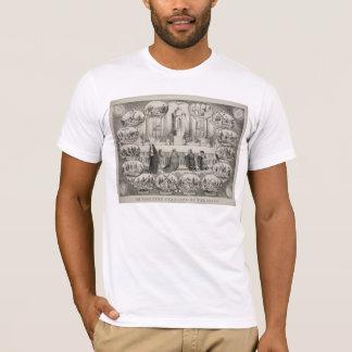 J.L. Giles著14の十字架の道 Tシャツ