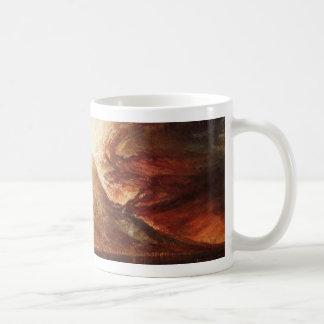 J M Wターナーによって噴火するヴェスヴィオ コーヒーマグカップ