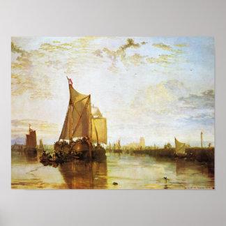 J.M.W.ターナー- Dort 1818年 ポスター