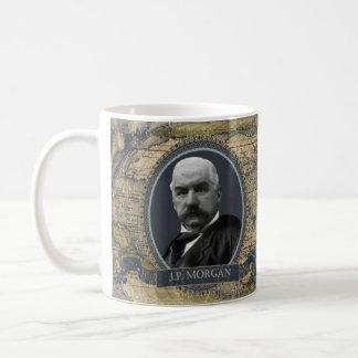J.P. モーガンの歴史的マグ コーヒーマグカップ