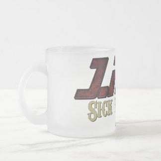 J.Radの病気のファンタジーによって曇らされるマグ フロストグラスマグカップ