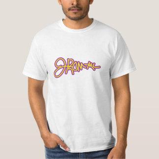 J-ROM-MCのロゴ Tシャツ