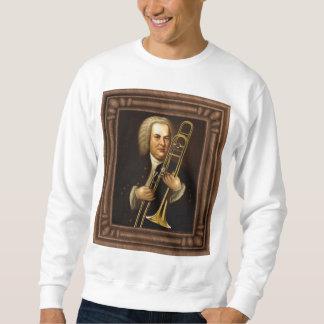 J.S. トロンボーンを持つBach スウェットシャツ