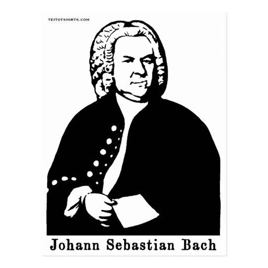 J.S.Bach ポストカード