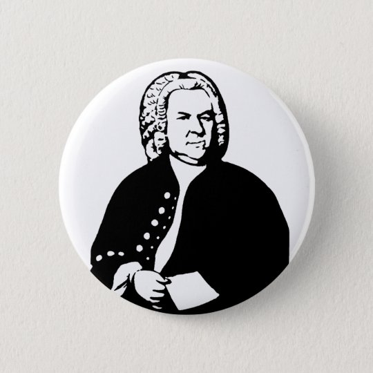 J.S.Bach 缶バッジ