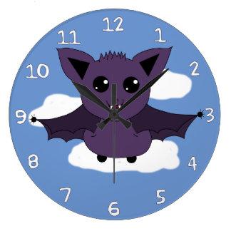 Jacこうもり; 飛ぶよい日 ラージ壁時計