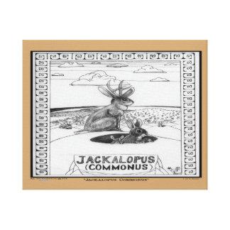 JACKALOPEの公有地 キャンバスプリント